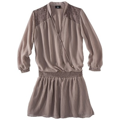 Taupe dress from Target