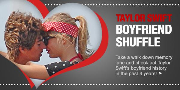 Taylor Swift's Boyfriend shuffle