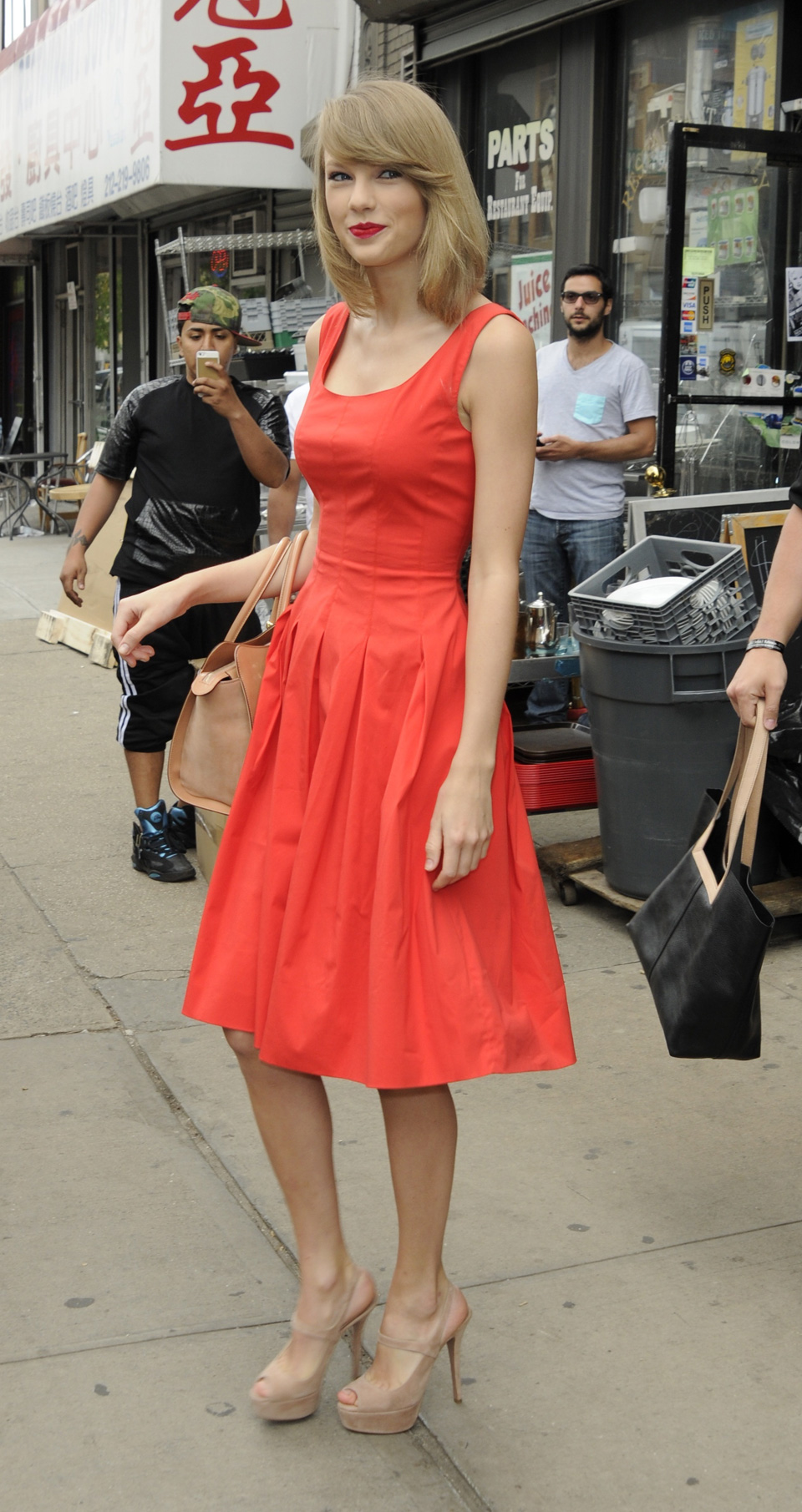 Red has always been one of Taylor's go-to hues
