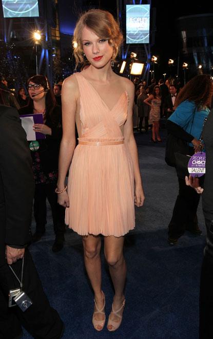 Taylor Swift People's Choice Awards
