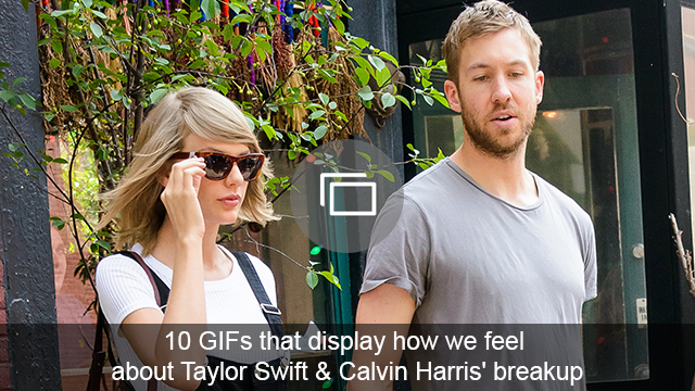 taylor and calvin breakup slideshow
