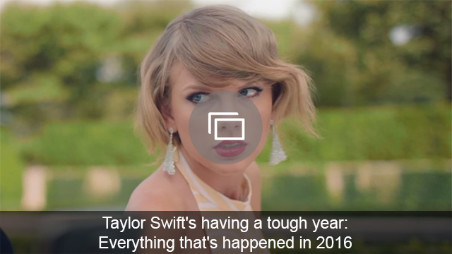 Taylor Swift bad year slideshow