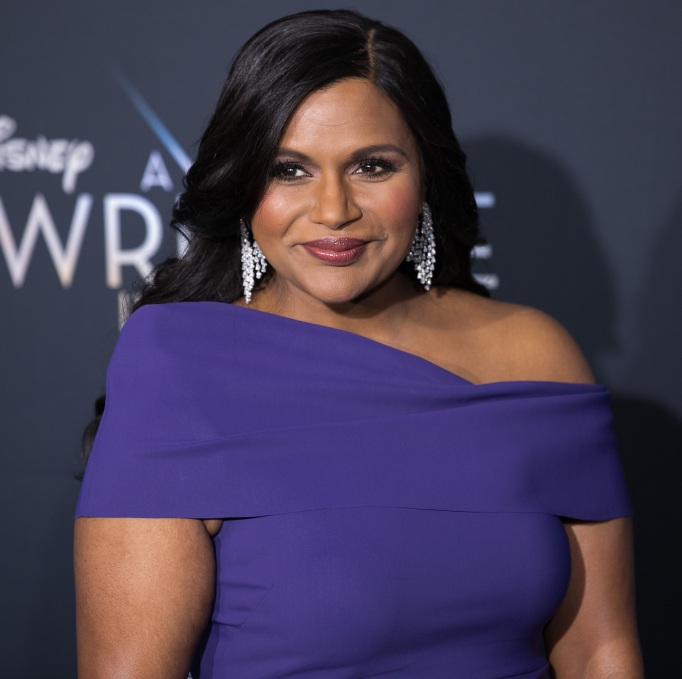 Mindy Kaling at the world premiere of A Wrinkle In Time