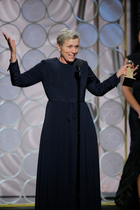 2018 Golden Globe Speeches: Frances McDormand