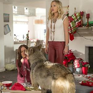 Trophy Wife gets into the Christmas