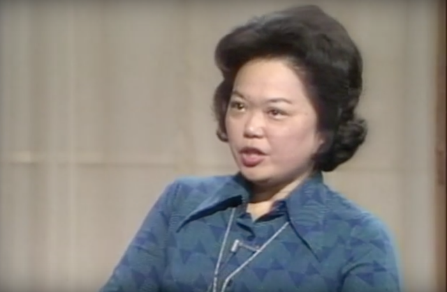 Screen still of Patsy Mink