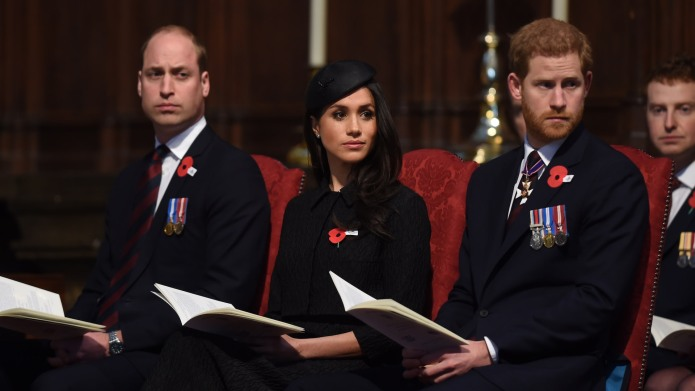 Prince William's Recent Behavior in Church