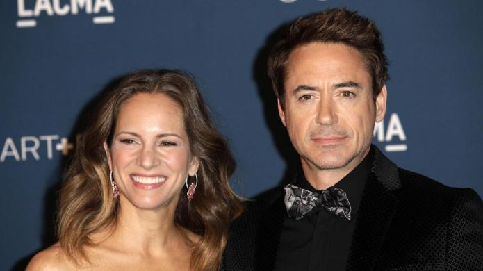 Robert Downey, Jr. and wife Susan