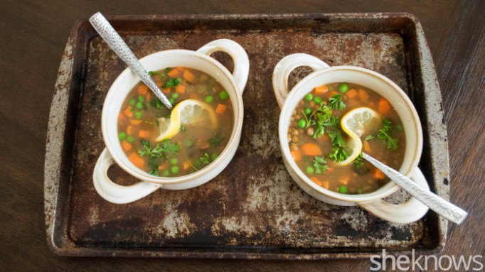 Lemon-lentil soup