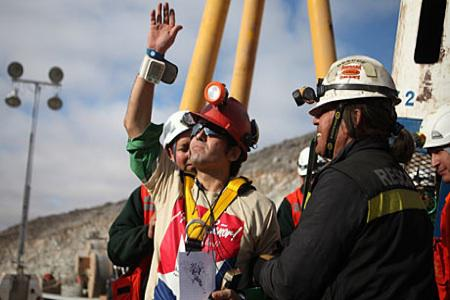 Chilean miners' story becoming a movie