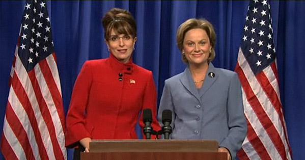 Gov Palin (Tina Fey) and Senator