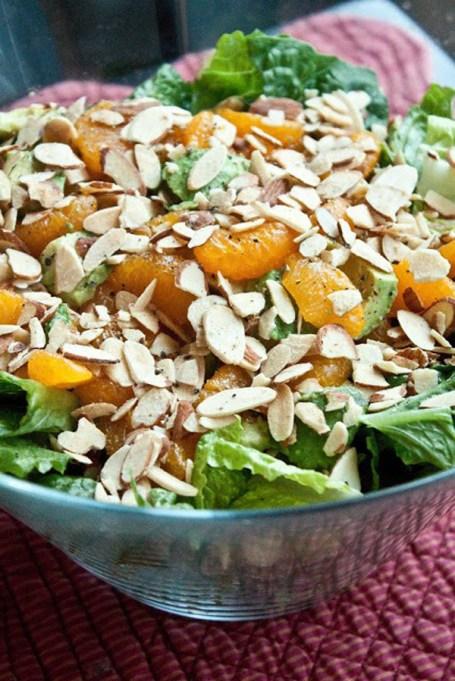 50 Easy Summer Salads: Mandarin Almond Salad | Summer Eats