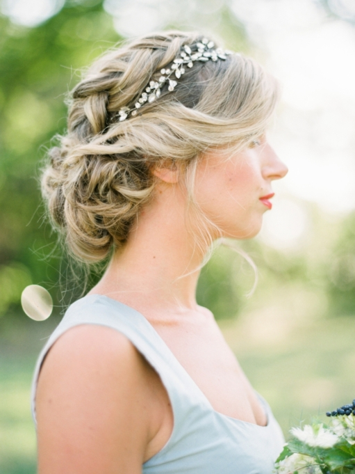 Ethereal Bridal Hair Accessories | Krista A Jones Photography