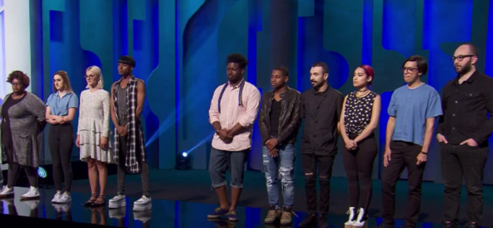 Project Runway meets Shark Tank with