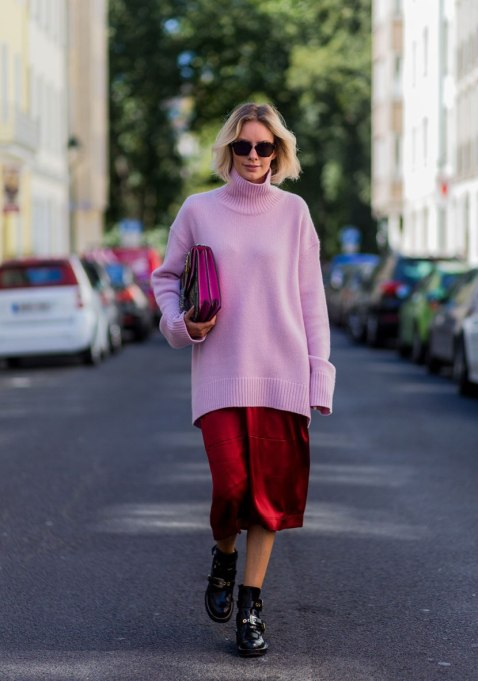 Ways To Wear A Turtleneck | Long lassie