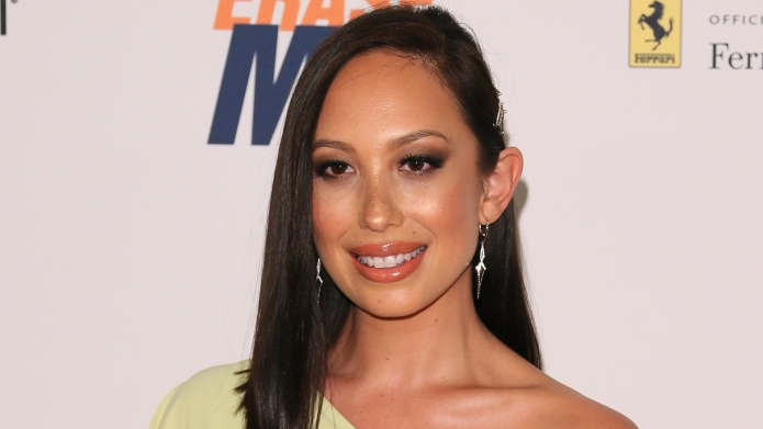 Cheryl Burke at Race to Erase