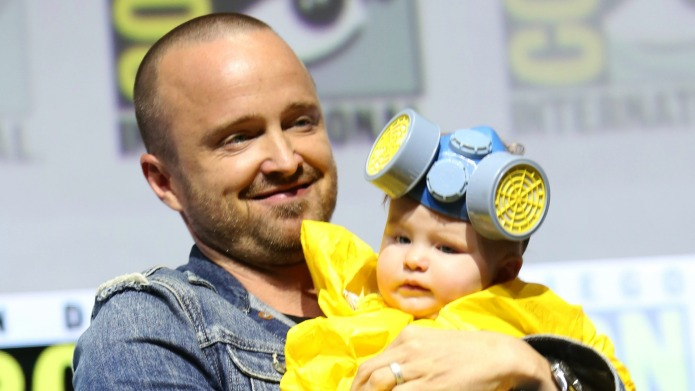 Aaron Paul Daughter Comic-Con