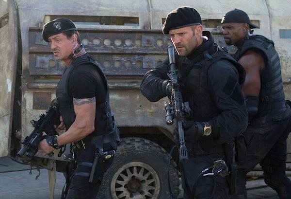 Expendables 2 shoots to the top