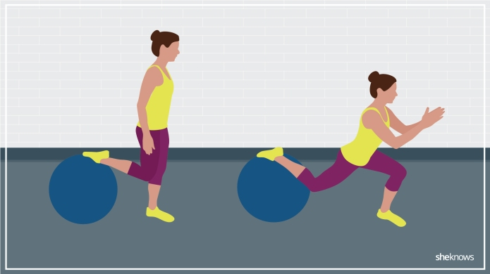 8 stability ball exercises that aren't
