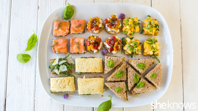 5 Easy tea sandwiches that will