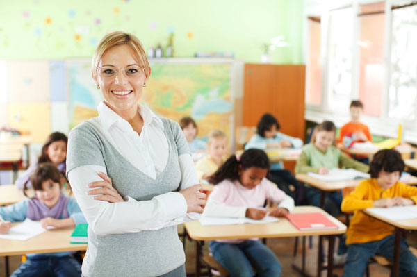 teacher, classroom, students