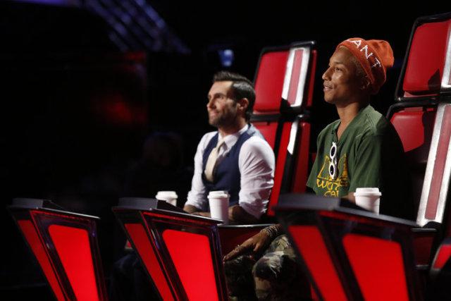 Teams Adam and Pharrell