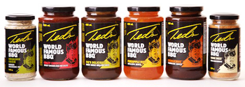 Ted Reader's World Famous BBQ Sauces and Seasonings