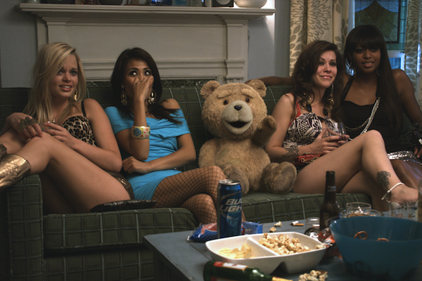 Ted with hookers