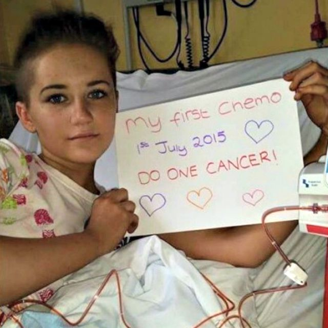 Teenager with cancer shares journey via online diary