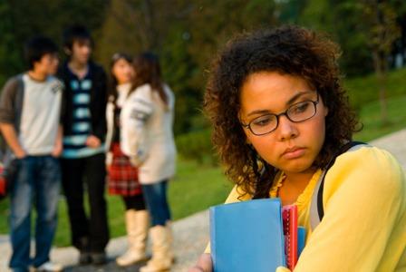 Bullied teen