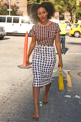Solange -- Funky style