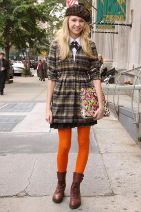 Gossip Girl -- Preppy style