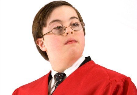 Teen with Down syndrome graduation