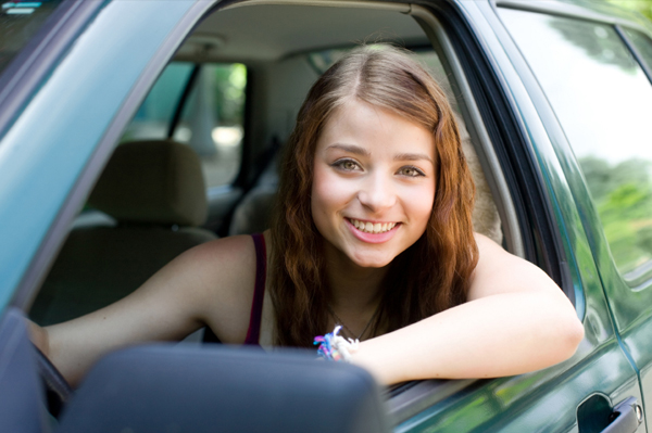 Teenager driver