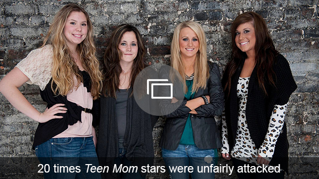 teen mom stars attacked slideshow