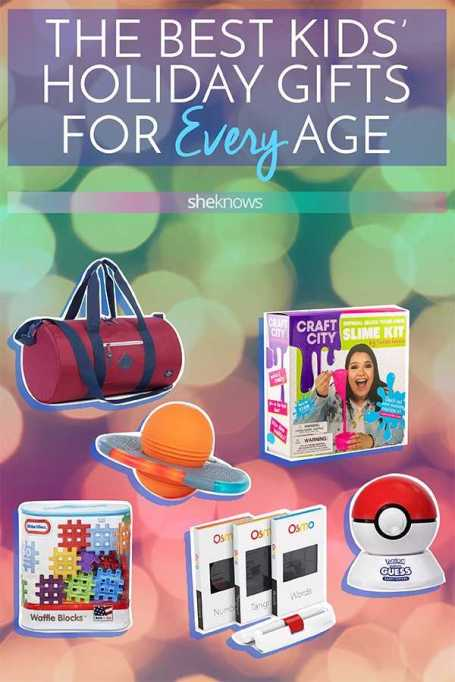 Pin it! Holiday Gifts for Every Age