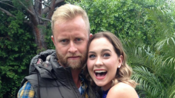 Candace Cameron Bure sends daughter Natasha