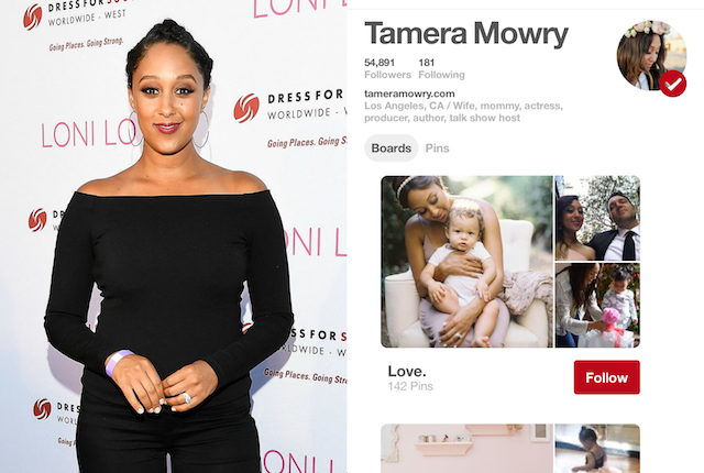 Celebs on Pinterest: Tamera Mowry