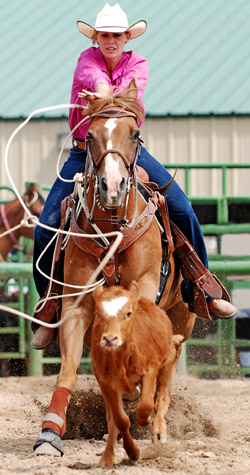 Rodeo girl - horse