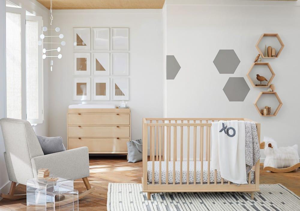 PB Kids Alternative to Traditional Nursery Decor