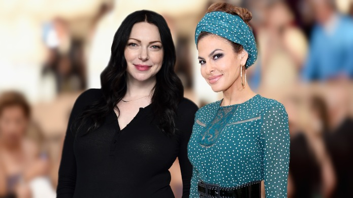 Laura Prepon & Eva Mendes Are