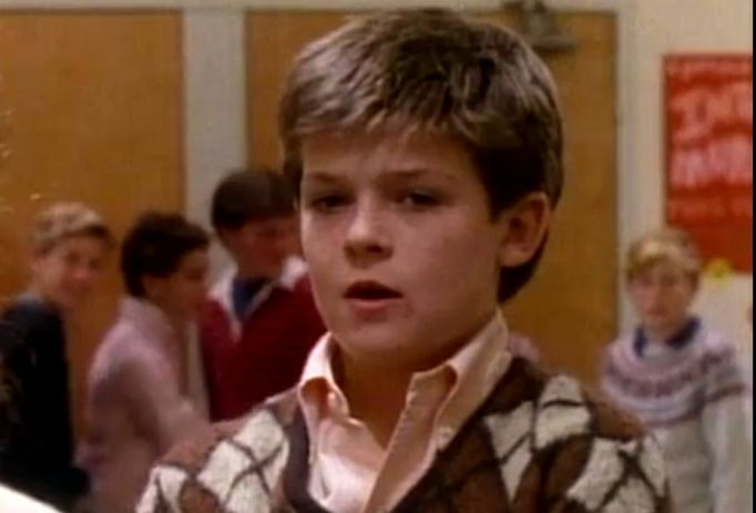 Robin Thicke in The Wonder Years