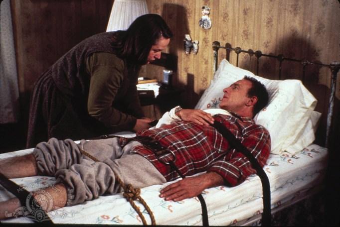 James Caan and Kathy Bates in Misery
