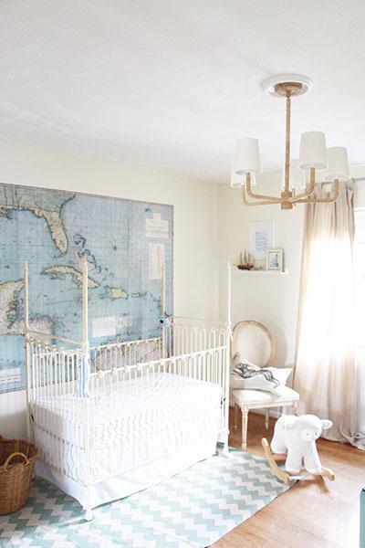Vintage Baby Nursery Bedding