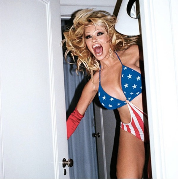 Terry Richardson photo of Pamela Anderson