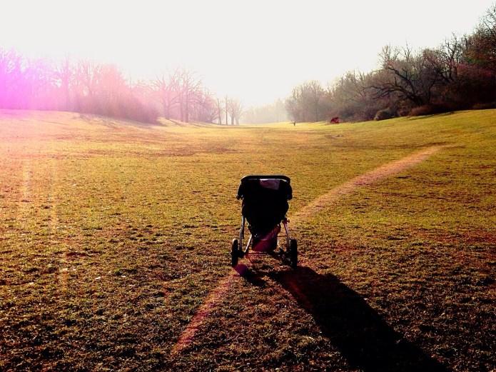 Abandoned newborn found alone in stroller