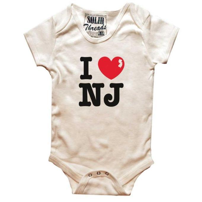 New Jersey Baby Onesie
