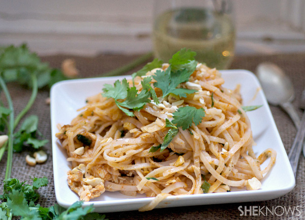 Thai chicken and coconut curry pasta