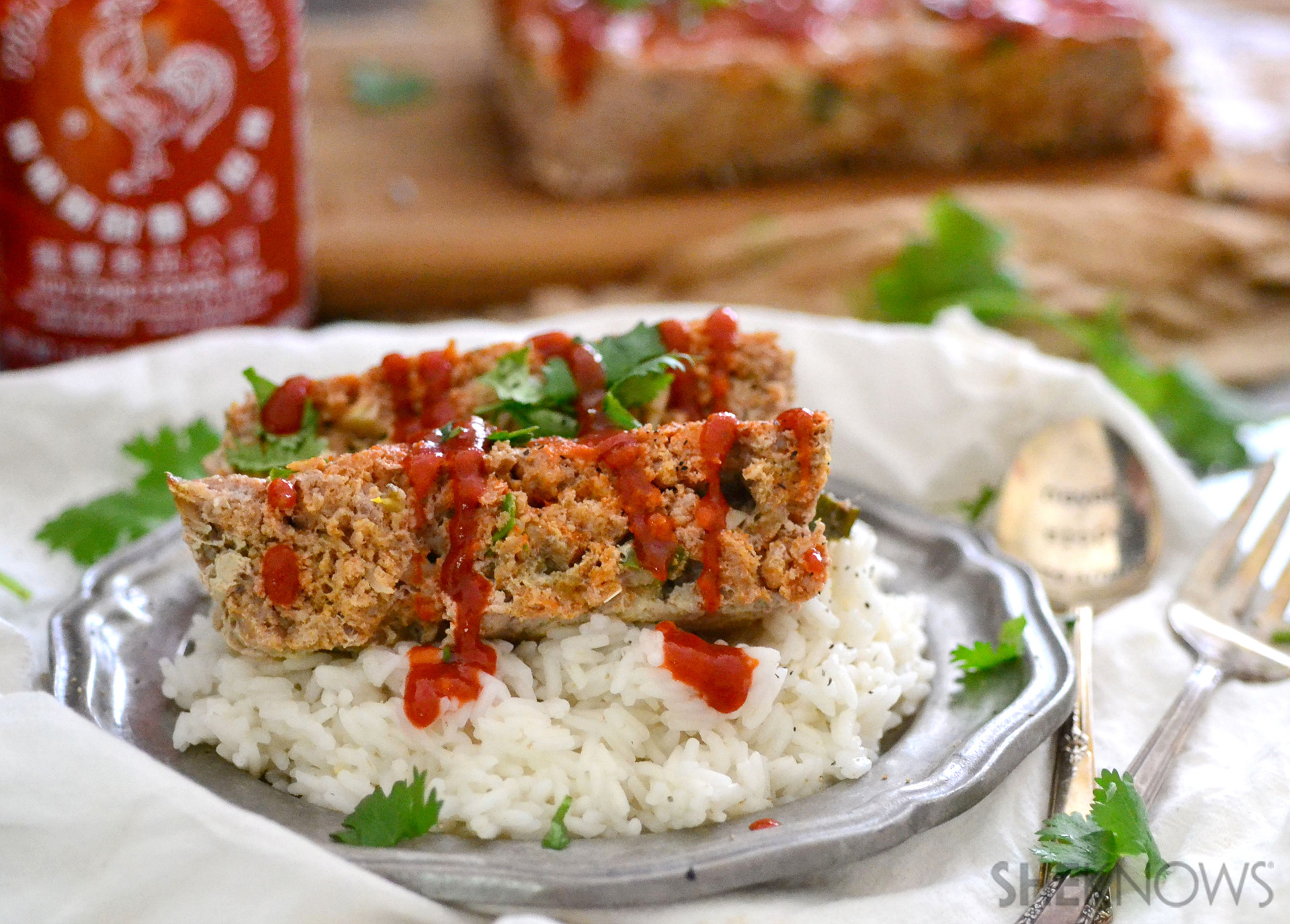 Thai spiced meatloaf recipe