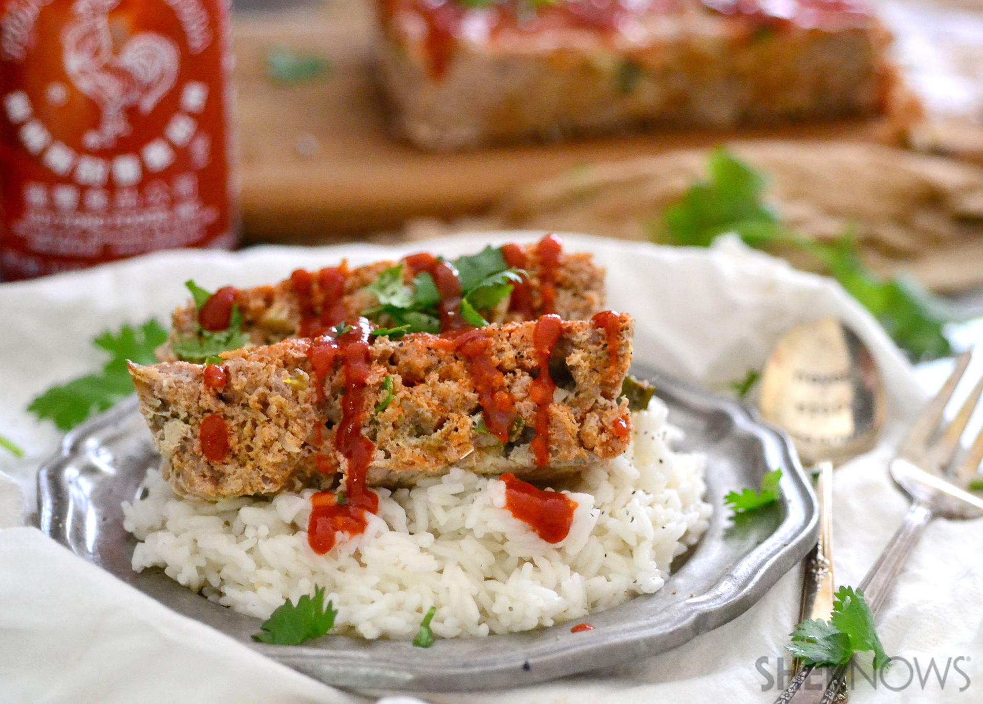 Thai spiced meatloaf